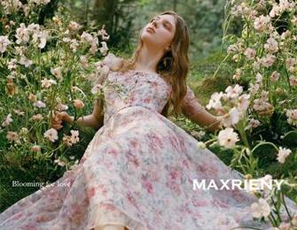 MAXRIENY爱之花语系列 仙女复古风女装新品,延续浪漫之旅